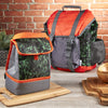 Kids' Adventure Rucksack BackPack & Matching Insulated Lunch Bag - Green Jungle Texture