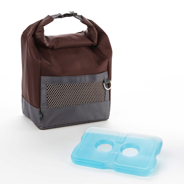 Sporty Insulated Lunch Bag with Ice Pack