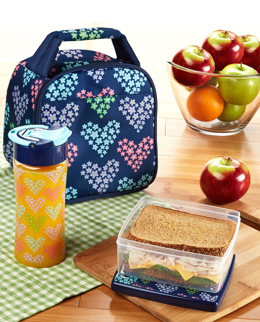 Gabby Kids' Insulated Bag Kit with Lunch Pod & Tritan Water Bottle