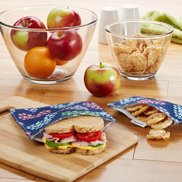 Reusable Sandwich & Snack Bags (Set of 2)