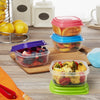 Multicolored 1 Cup Portion Control Containers (Set of 4)