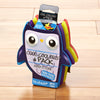 Cool Coolers Multicolored Owl Ice Packs (Set of 4)