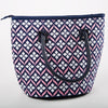 Kenly Insulated Lunch Bag (Navy Pink Lily)