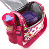 Melissa Insulated Kids Matching Lunch Bag Kit with Reusable Water Bottle and Chilled Container Set