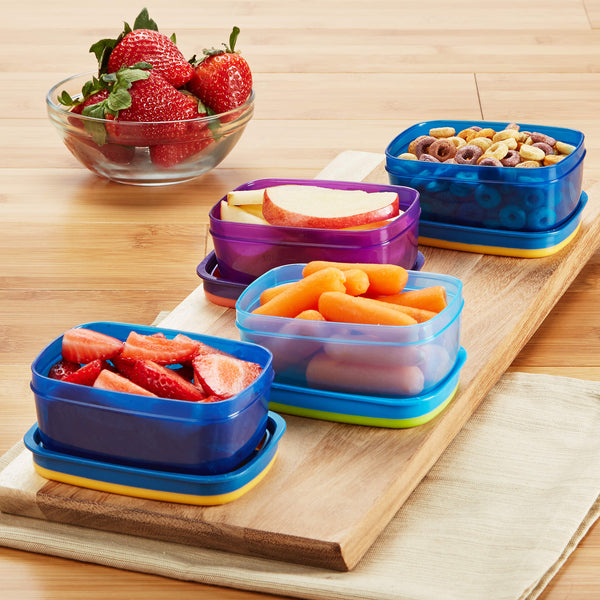 Leak-proof Half Cup Portion Containers