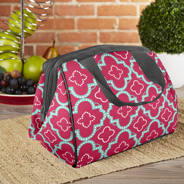 Charlotte Insulated Lunch Bag with Ice Pack