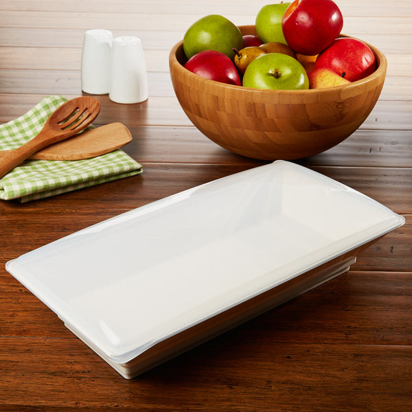 56 oz. Freezable Serving Platter with Lid