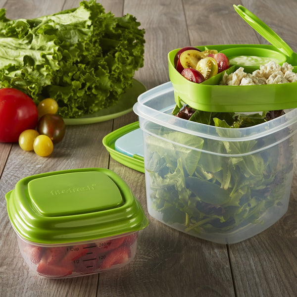 Fresh Selects Salad & Side Portion Lunch Containers