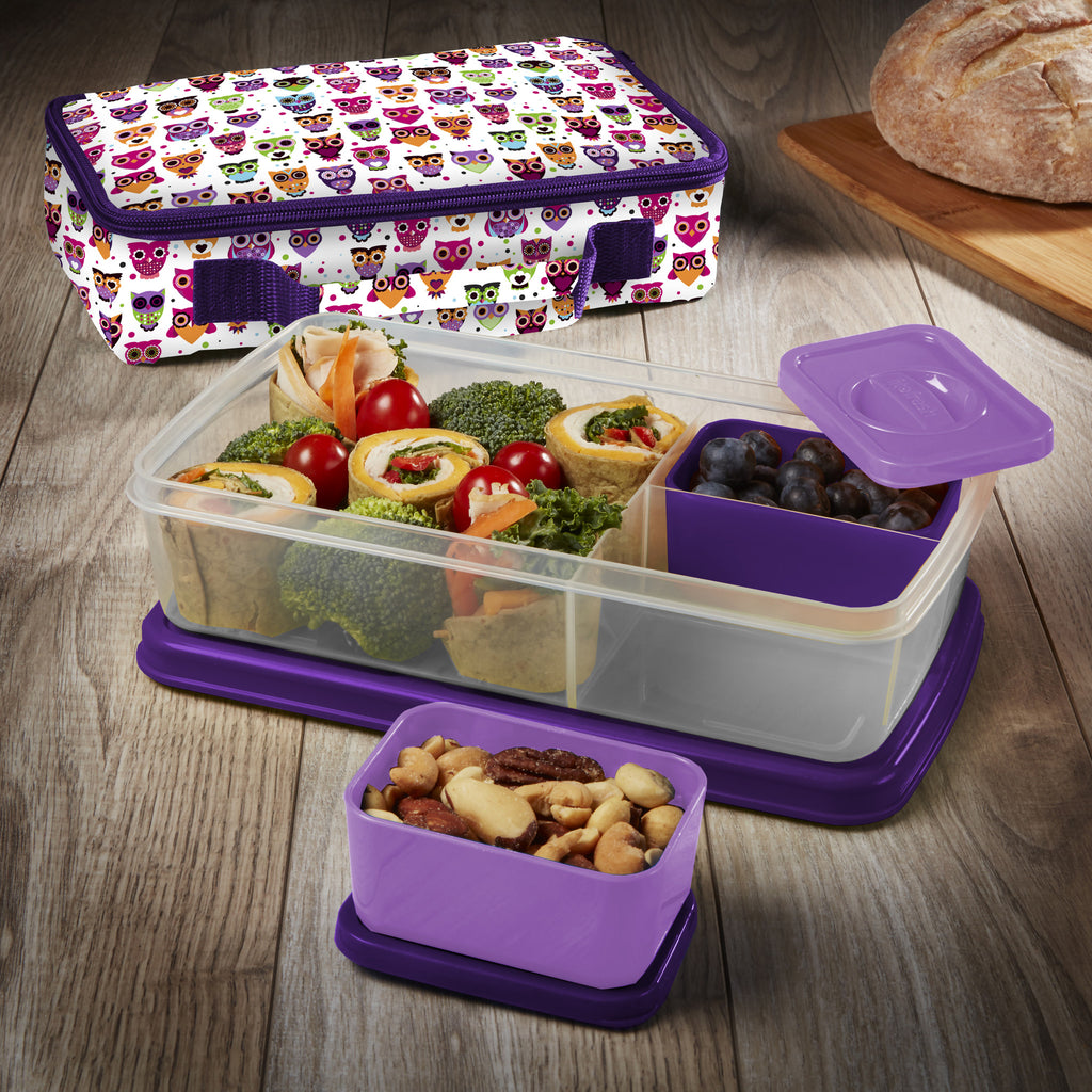 Bento Lunch Kit with Insulated Carry Bag