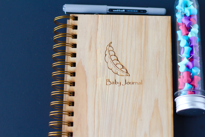 Baby Journal - Sweet Pea