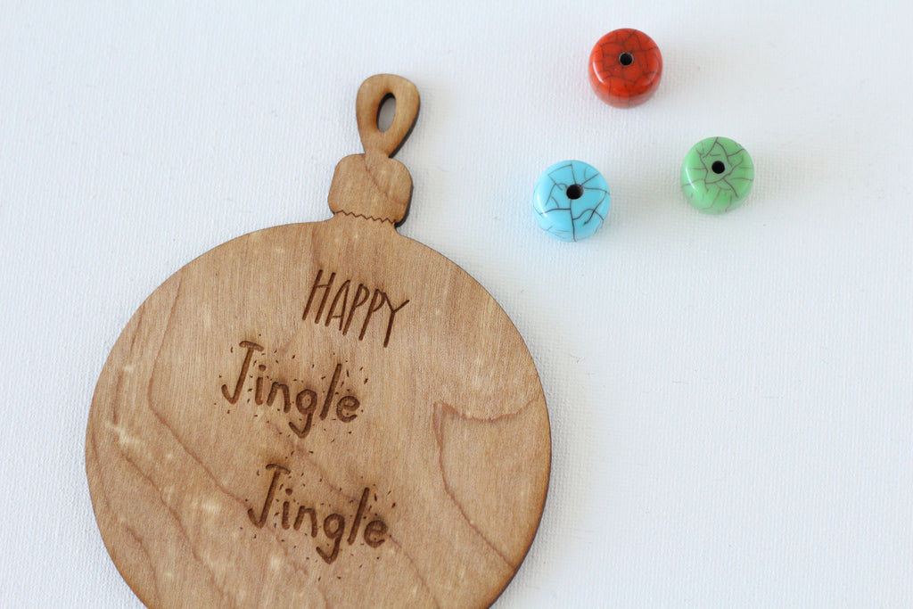 Wooden Holiday Ornament