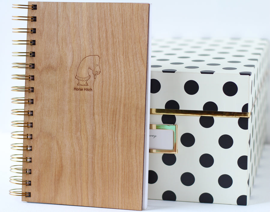 NOTEBOOK JOURNAL - Horse Journal - Harley London