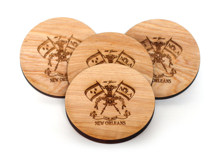 Wood Coasters - Tricentennial - Harley London