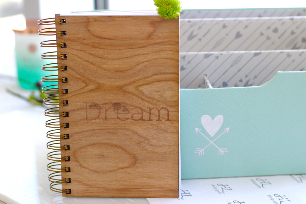 spiral bound dream notebook journal