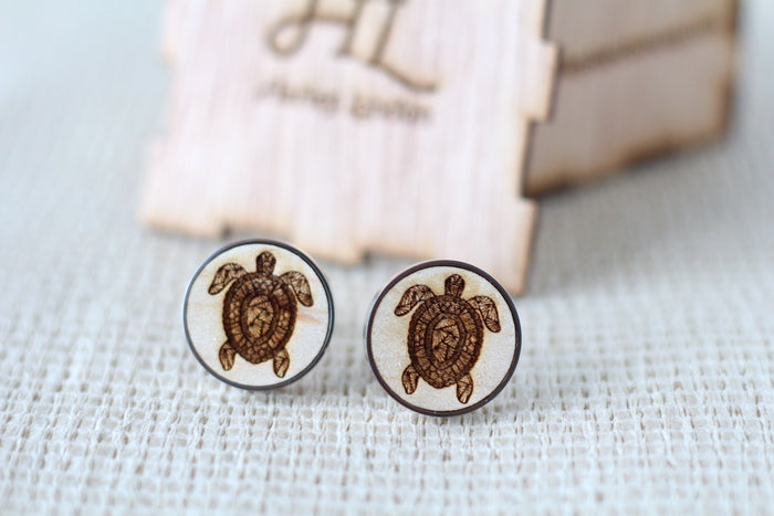 Patterned Tortoise Cufflinks