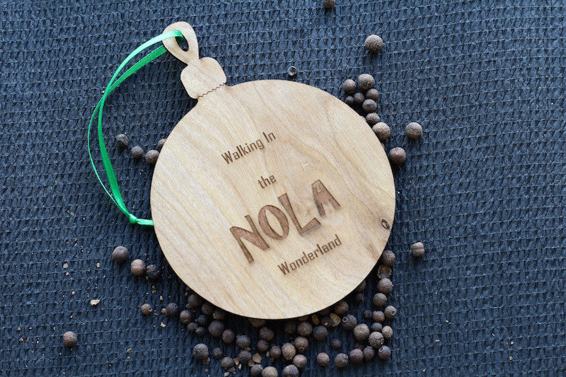 Wood Ornament - Nola Wonderland - Harley London