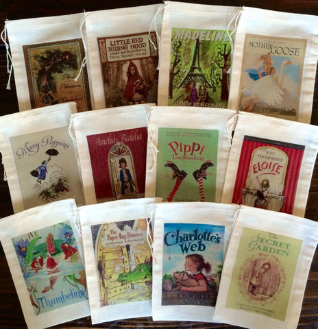 Classic Storybook Favor Bags - Set of 12