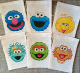 Sesame Street Favor Bags - Set of 10
