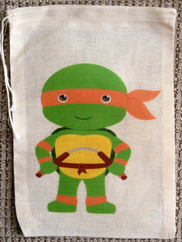 TMNT Favor Bags - Set of 12
