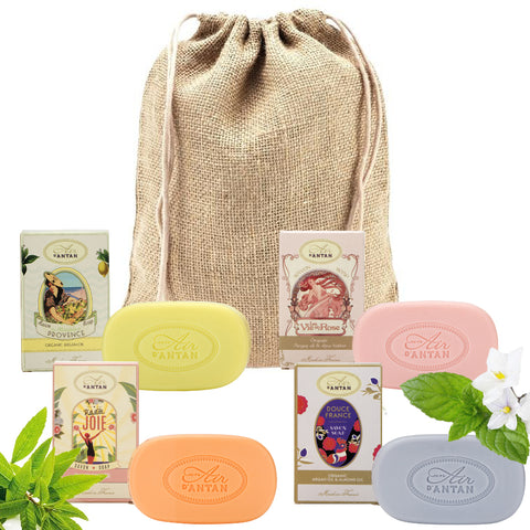soap gift organic oil set