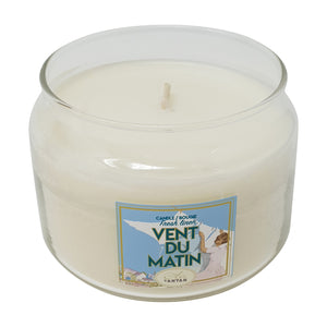 Vegetable wax candle Vent du Matin