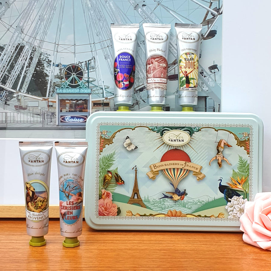HAND CREAM TIN GIFT SET (5 HAND CREAMS 25 ML)
