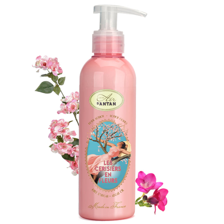 Les Cerisiers en Fleurs, the Body Lotion full of spring freshness
