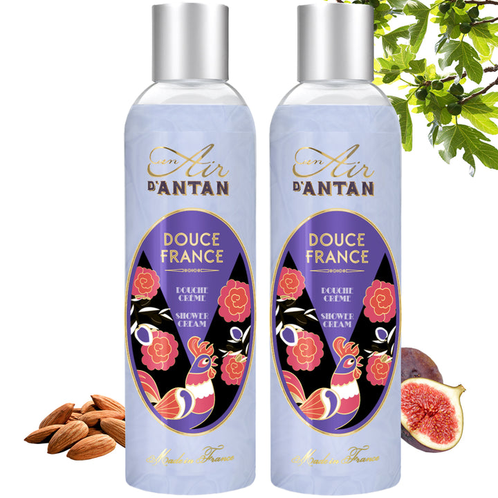 Douce France, the Shower Gel full of nostalgia - Twin Pack