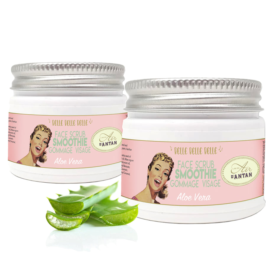 Twinpack 2x50 ml Aloe Vera FACE Scrub Smoothie