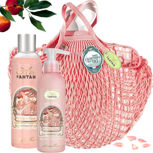 Bath&Body in The French Filt Filet Bag - Rose