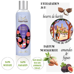 The French Summer Set - 4 Shower Creams in a FILT filet