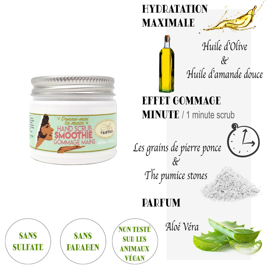 Aloe Vera Hand Scrub Smoothie 50 ml