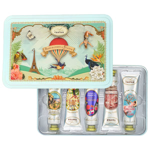 Hand Cream Gift Set In A Tin Box (5x25ml)
