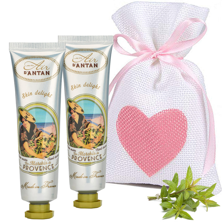 Hand creams twinpack gift set PROVENCE (2x25ml)