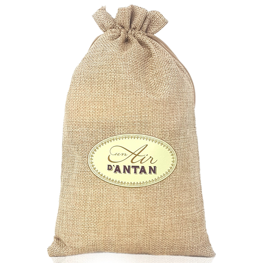 Shower Gel and Body Lotion Set in Jute Bag Provence - Organic Verbena