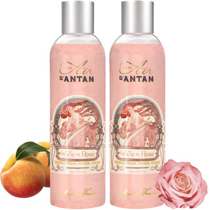 La Vie en Rose, the Shower Gel full of love - Twin Pack