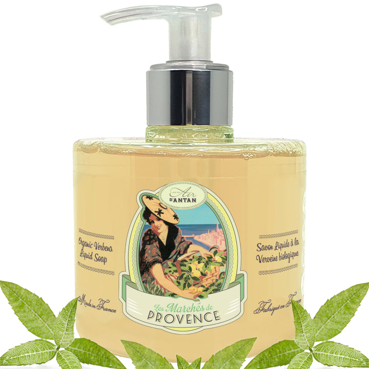 Marseille Liquid Soap Provence Verbena 300ml with pump