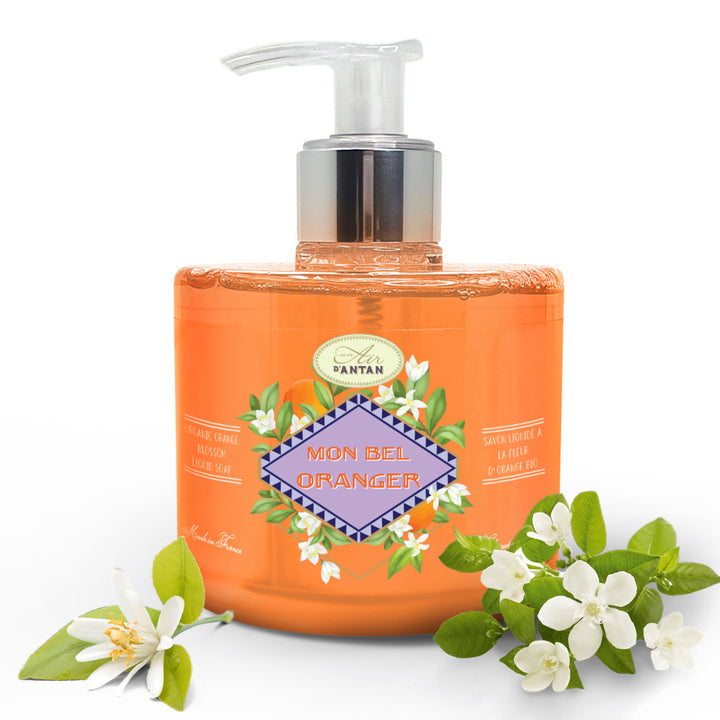 Marseille Liquid Soap Provence Orange Blossom 300ml with pump
