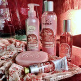 la vie en rose peach and patchouli