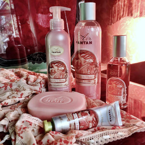la vie en rose peach and patchouli rangs cruelty free paraben free made in France