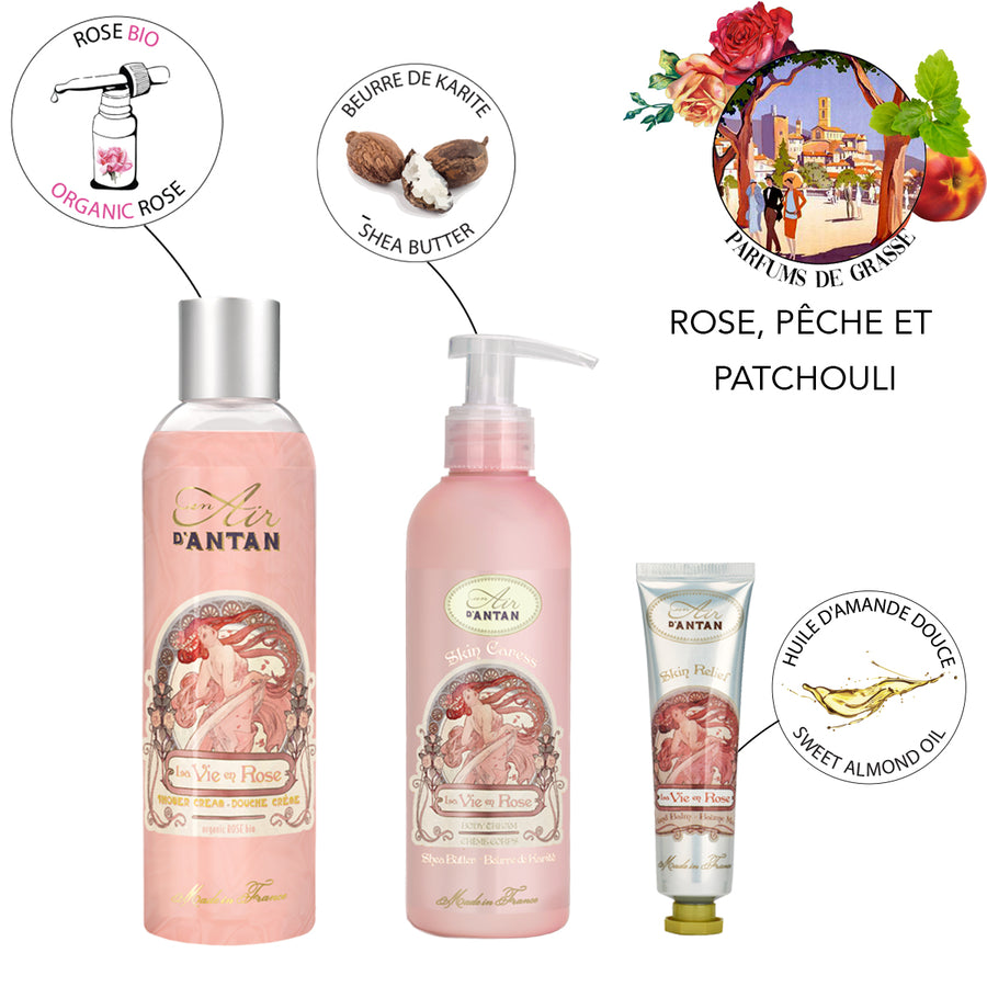 Mother's Day Trio Set La vie en rose Mother's Day