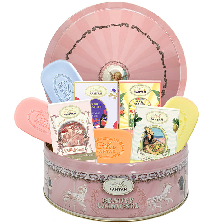 Soaps Gift Set CAROUSEL 4 SOAPS