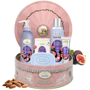Skincare Set CAROUSEL DOUCE - Almond, Fig, Vetiver