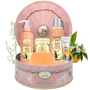 Skincare Set CAROUSEL JOIE - Orange Blossom, Lily Of the Valley, Rose