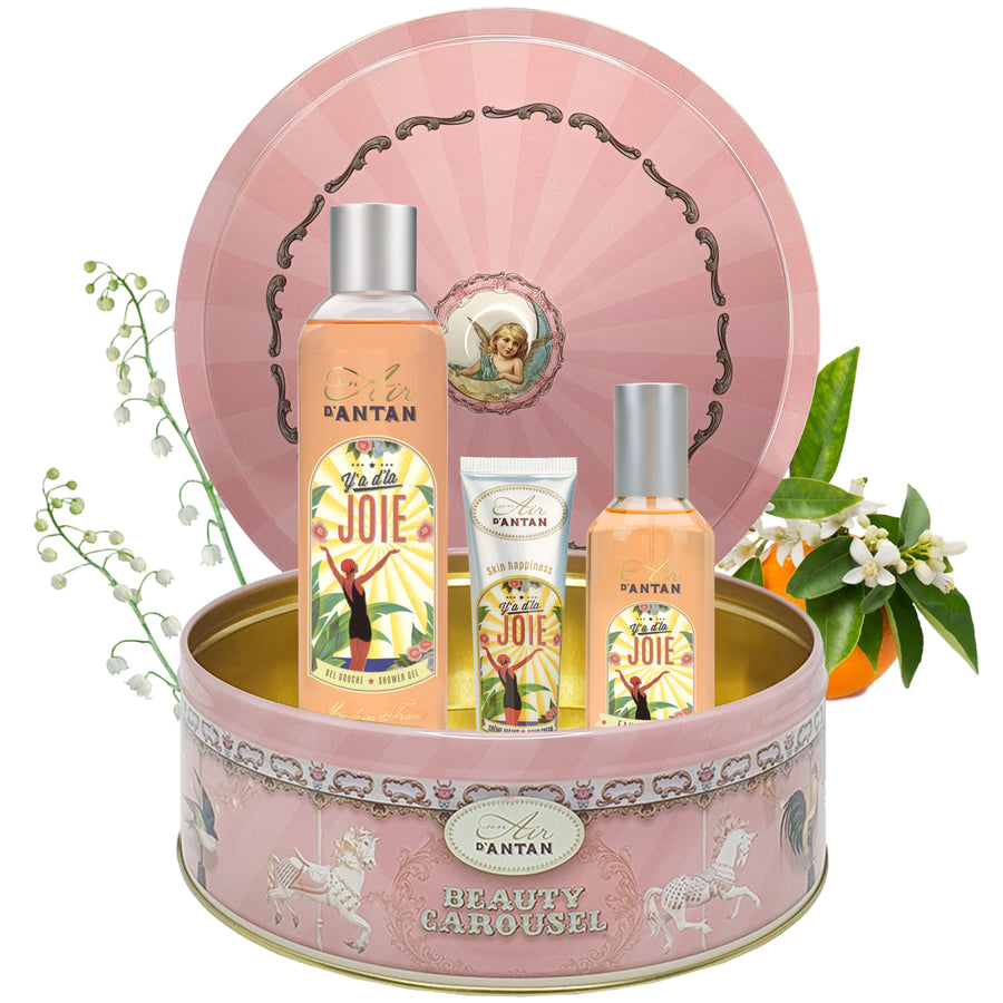 Perfume Set CAROUSEL JOIE - Orange blossom & Lily of the Valley