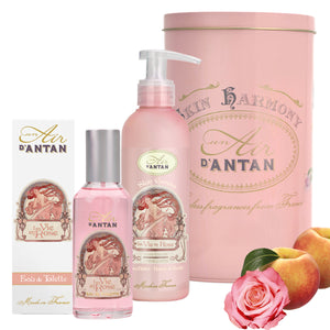 Perfume & Body Set ROSE - Rose, Peach and Patchouli
