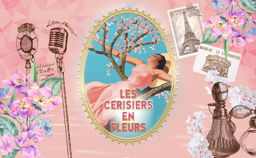Les Cerisiers en Fleurs, the Shower Gel full of Spring zing