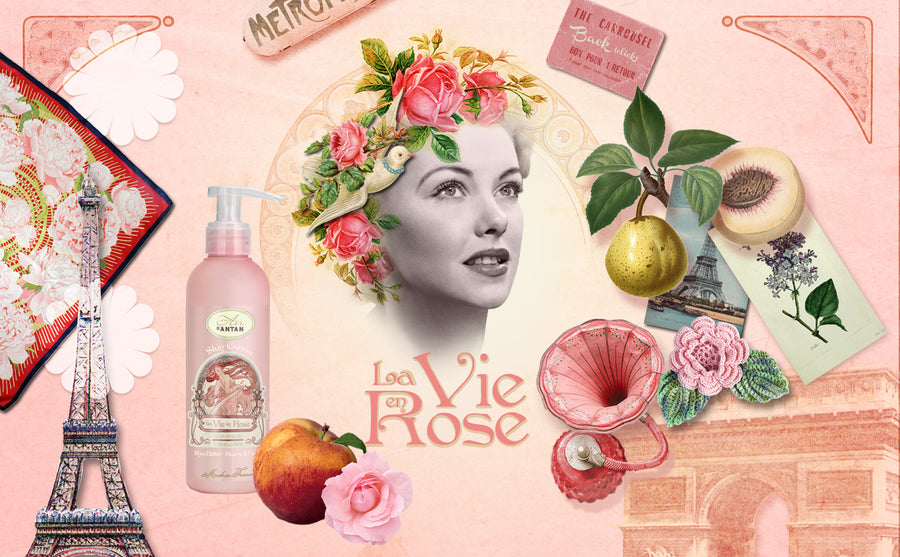 La Vie en Rose, the Body Lotion full of love