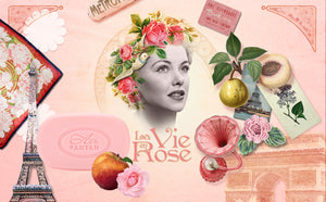 2 soaps set La vie en Rose