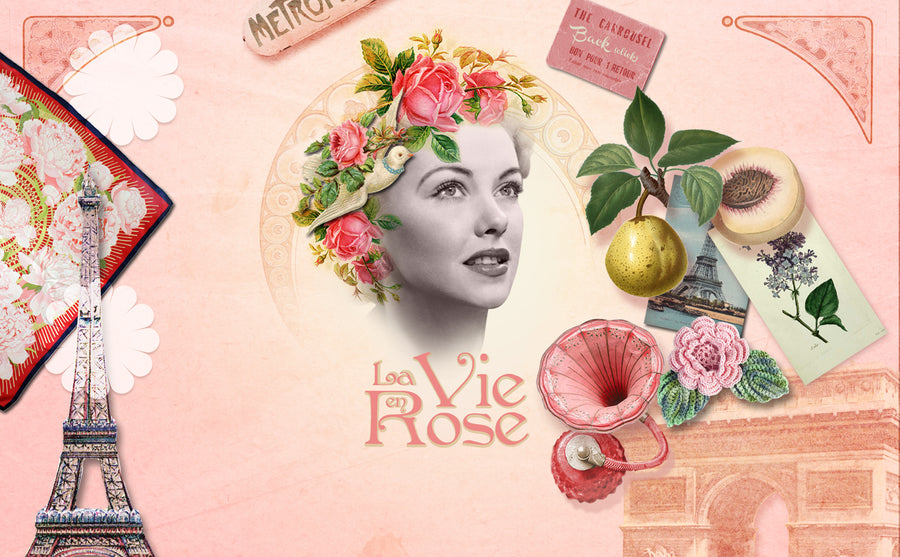 La Vie en Rose, the Eau de Toilette full of love